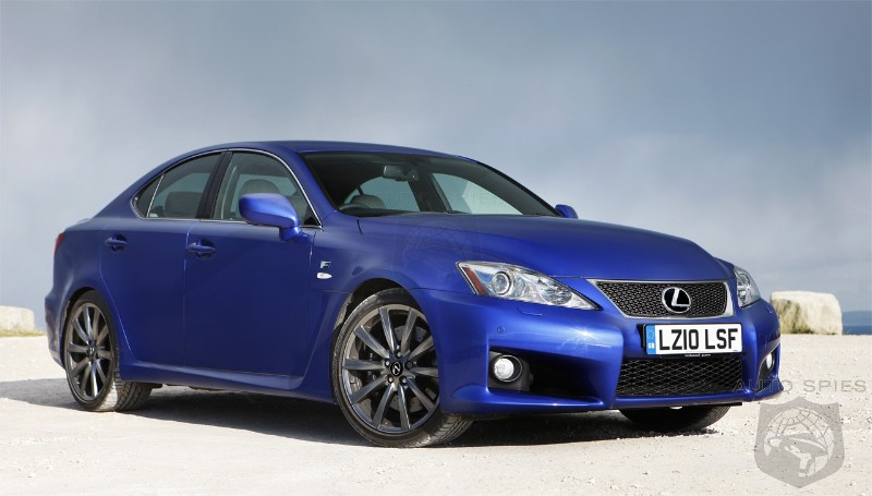 2010 Lexus Is F #12