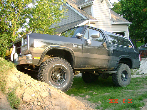1991 Dodge Ramcharger #9
