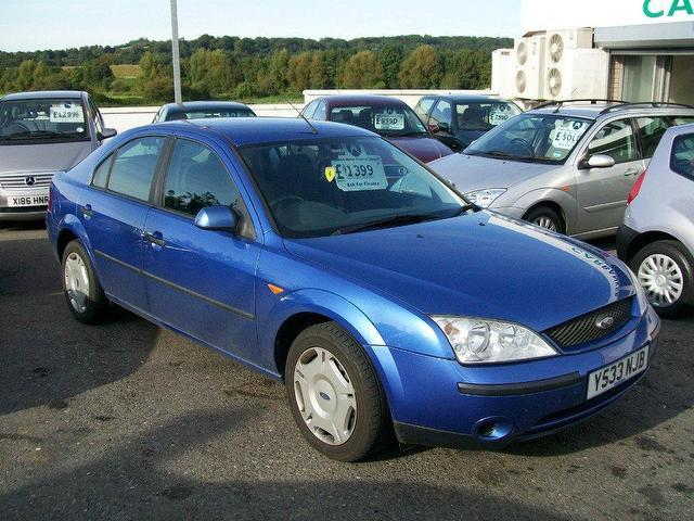 2001 Ford Mondeo #8