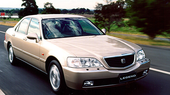 2004 Honda Legend #13