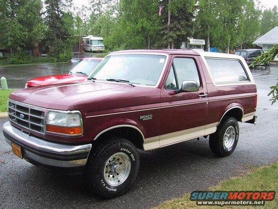 1993 Ford Bronco #12