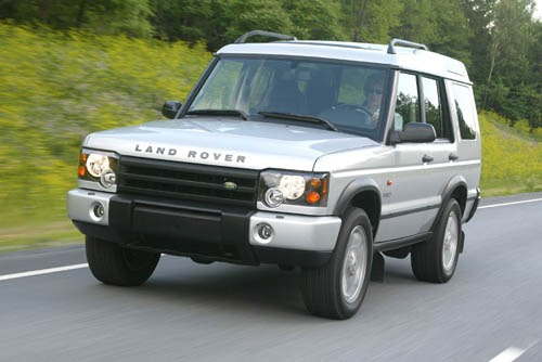 2004 Land Rover Discovery #12