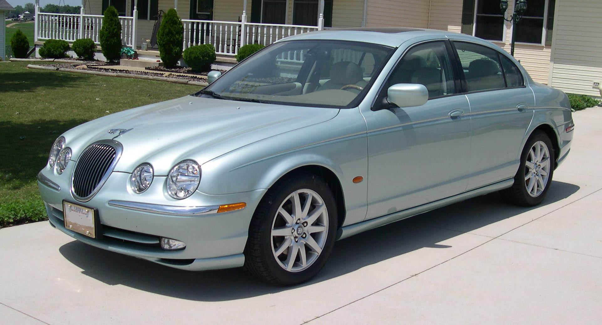 2008 Jaguar S-type #8