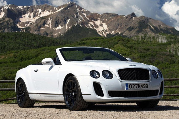 2011 Bentley Continental Supersports Convertible #3