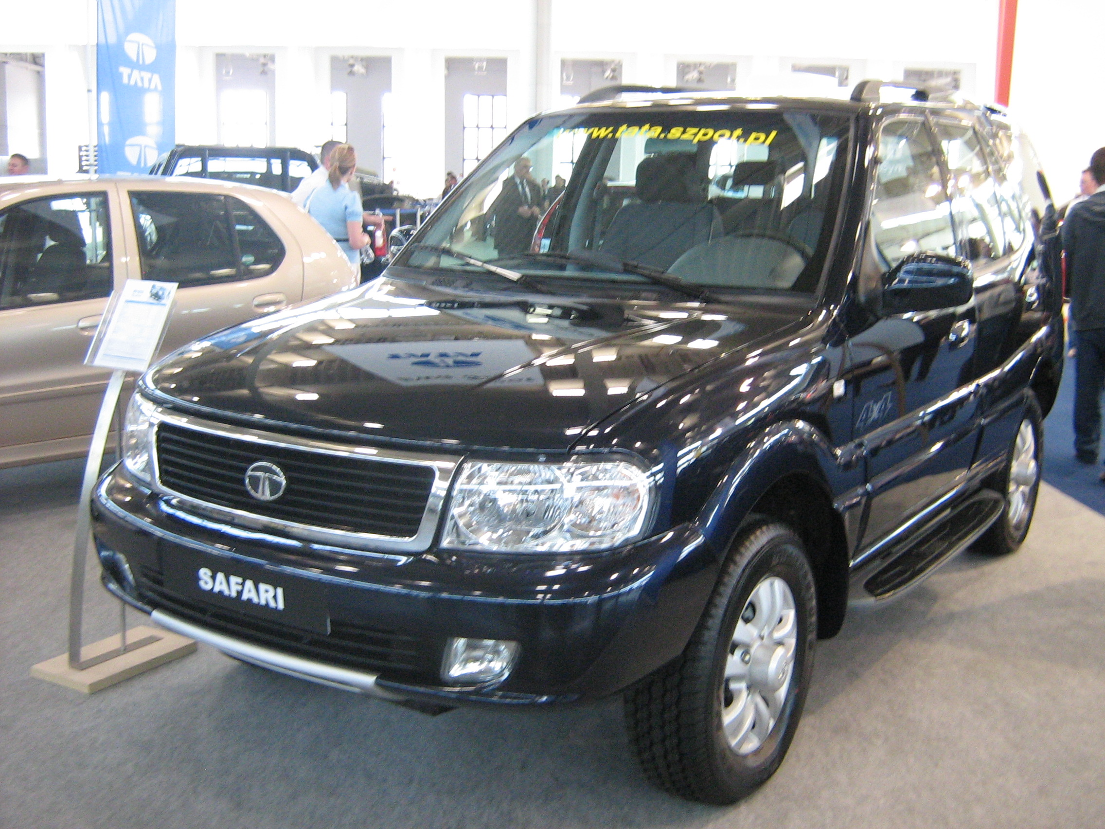 2009 Tata Safari #4