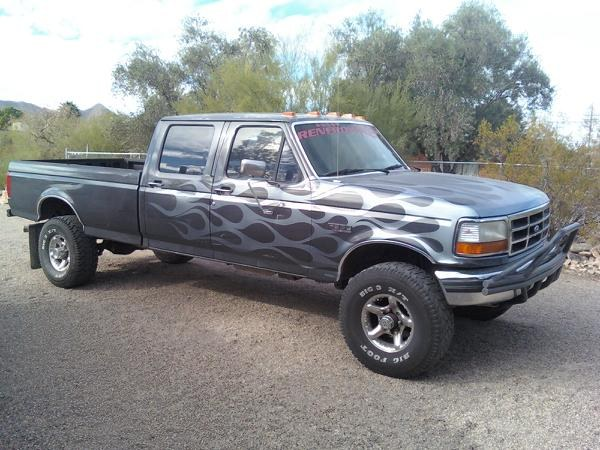 1993 Ford F-350 #6