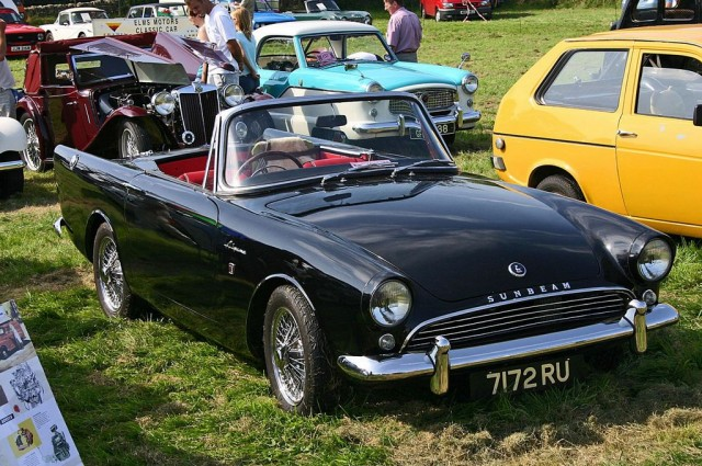 1964 Sunbeam Alpine #6