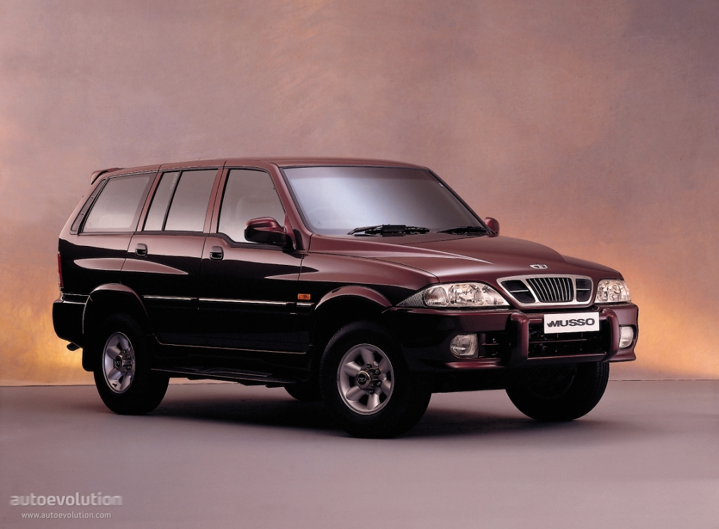 1998 Ssangyong Musso #3