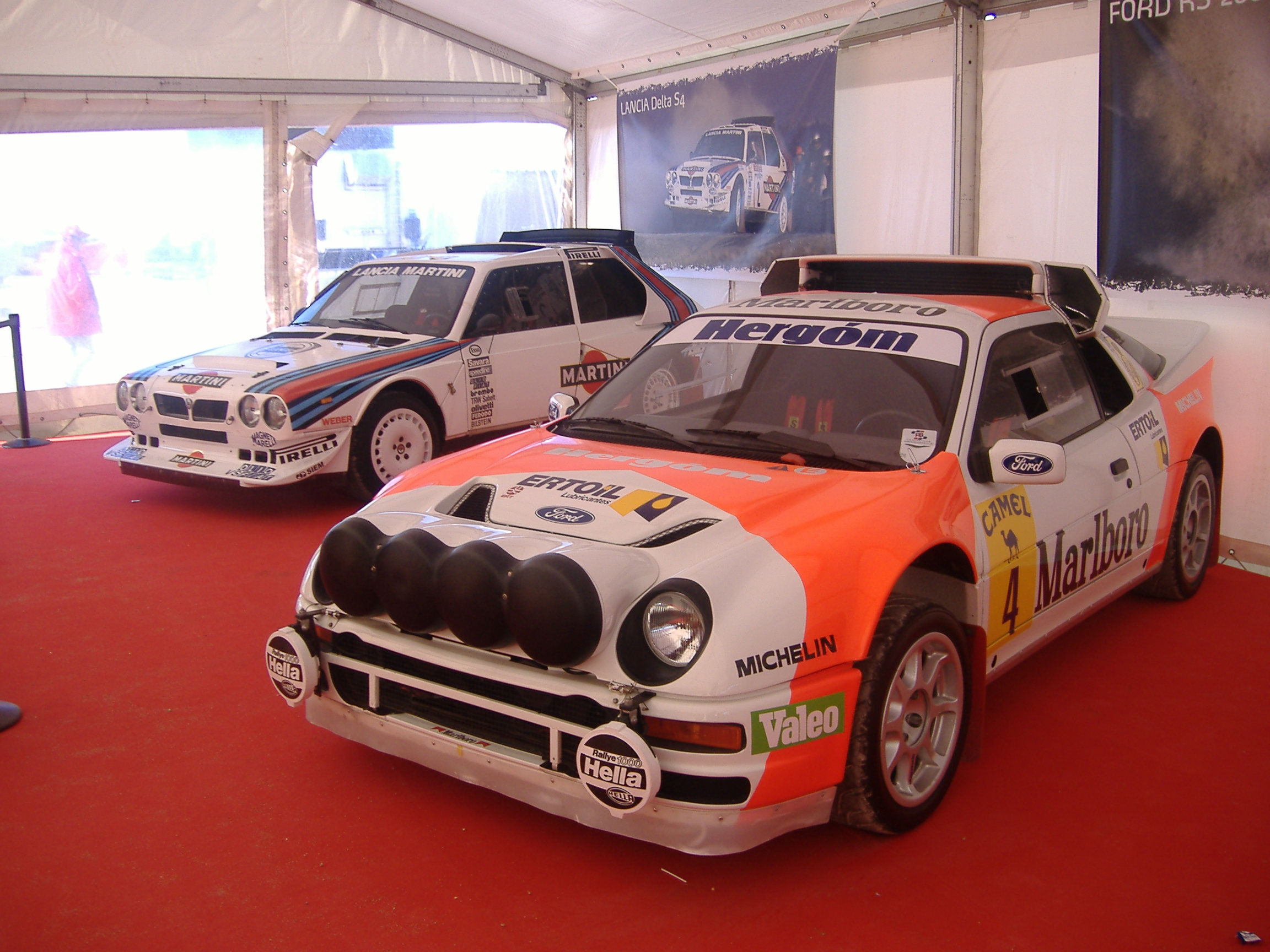 Ford RS 200 #16