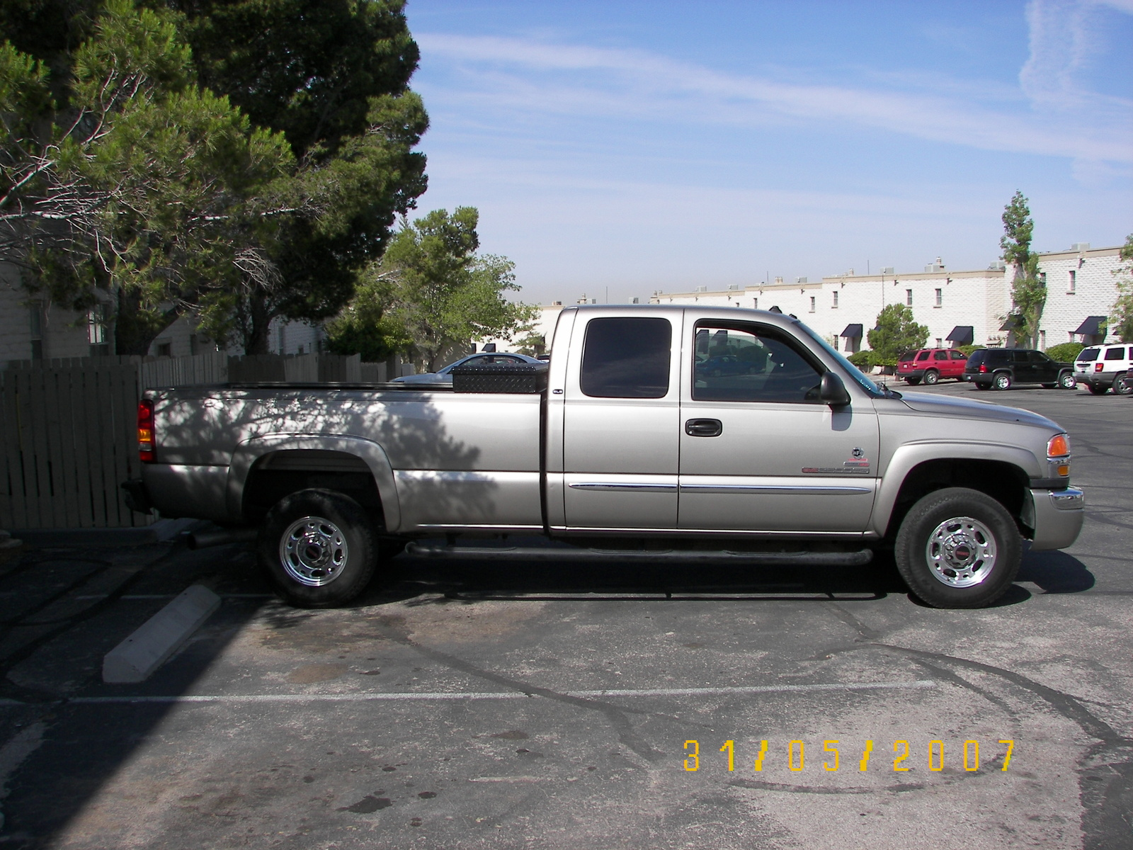 2003 GMC Sierra 2500hd #10