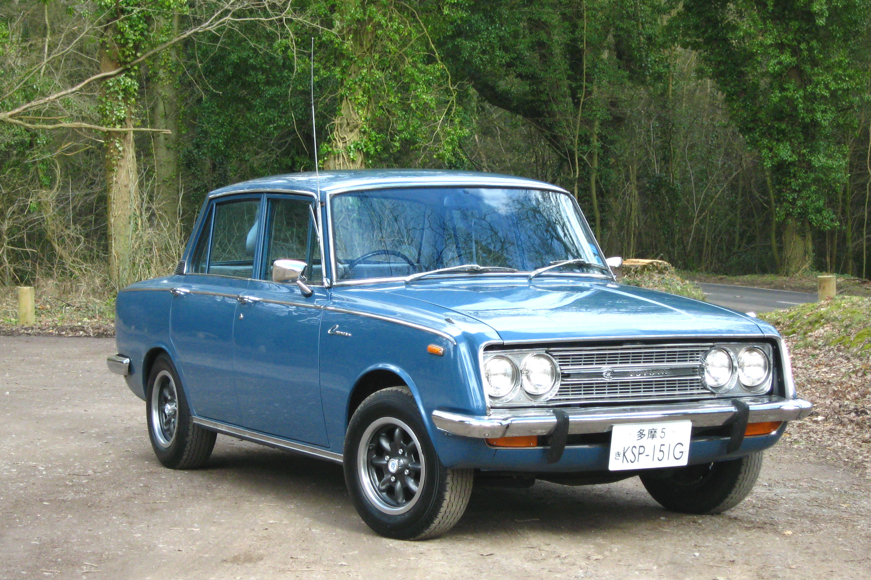 1968 toyota corona photos informations articles. Black Bedroom Furniture Sets. Home Design Ideas