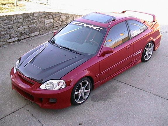 1999 Honda Civic #12