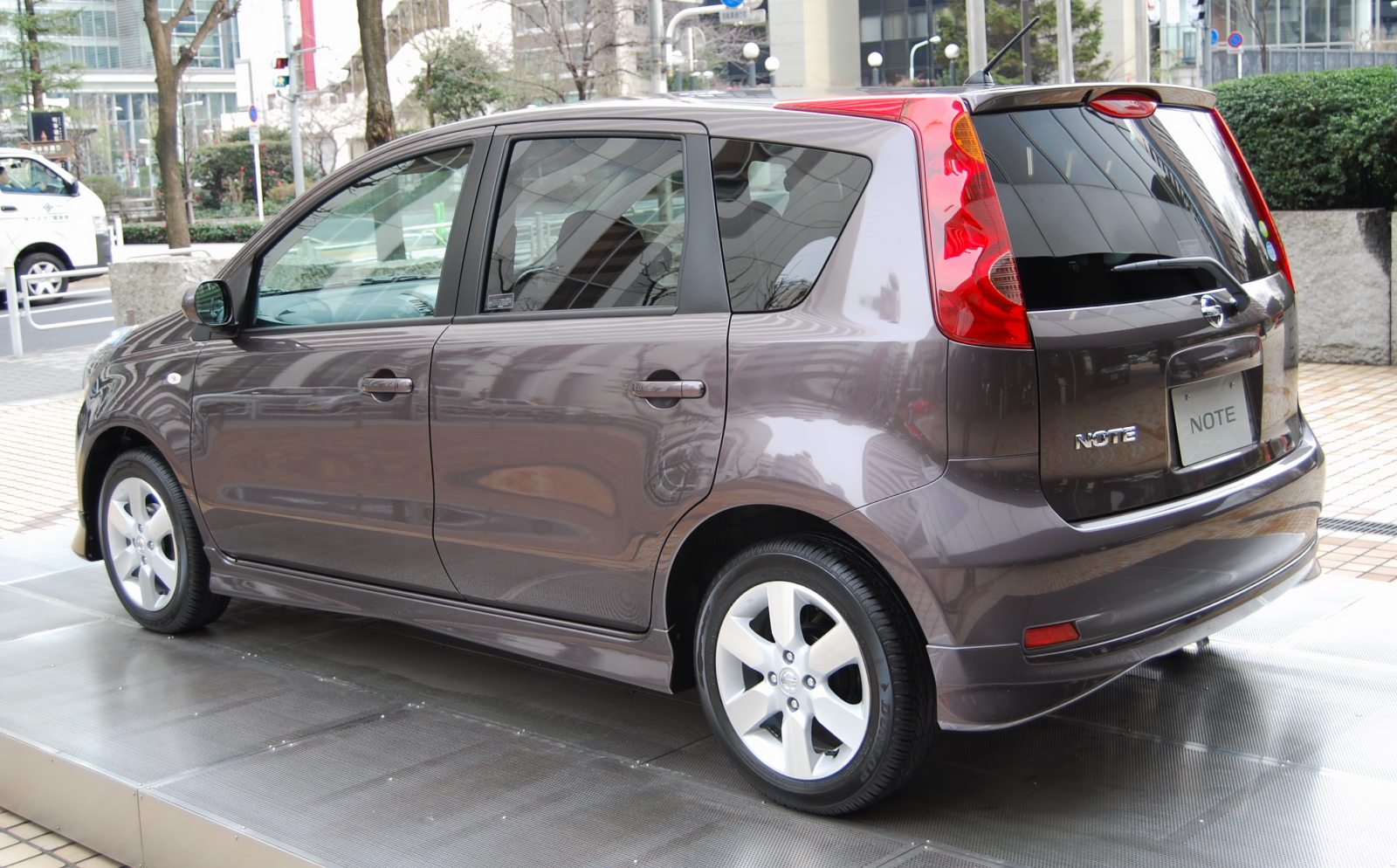 2008 Nissan Note #9