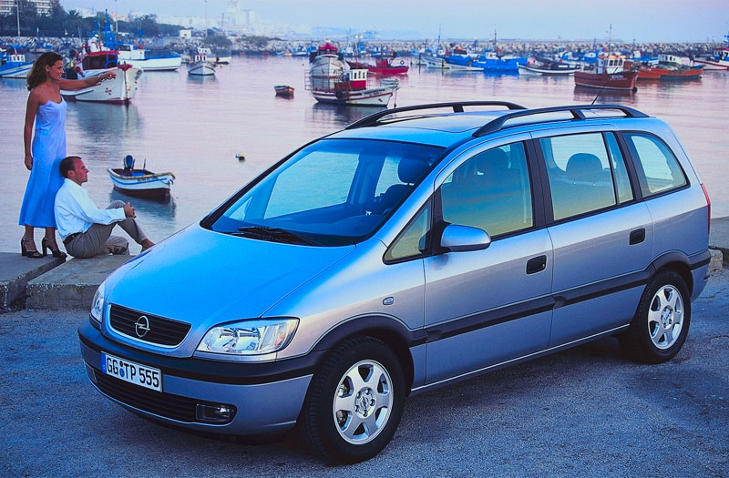 2000 opel zafira photos informations articles. Black Bedroom Furniture Sets. Home Design Ideas