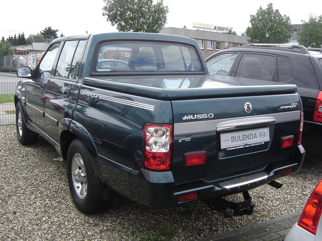 2005 Ssangyong Musso #4