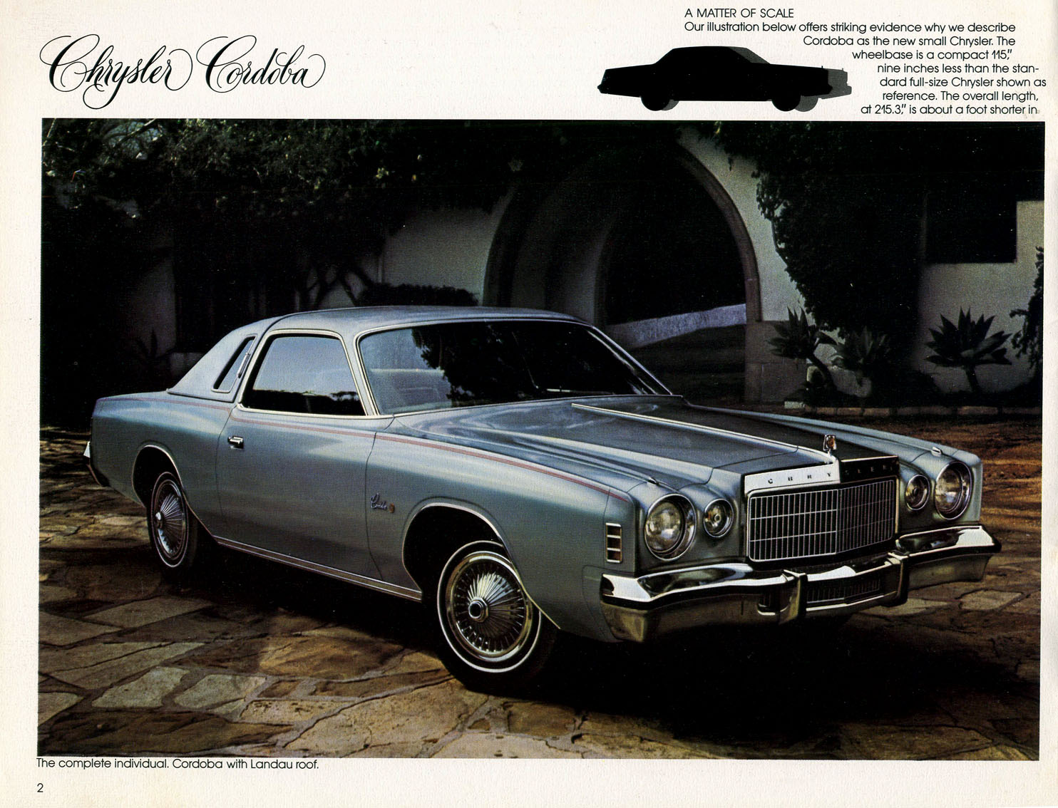 1974 Chrysler Cordoba #6