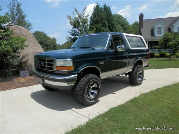 1993 Ford Bronco #11