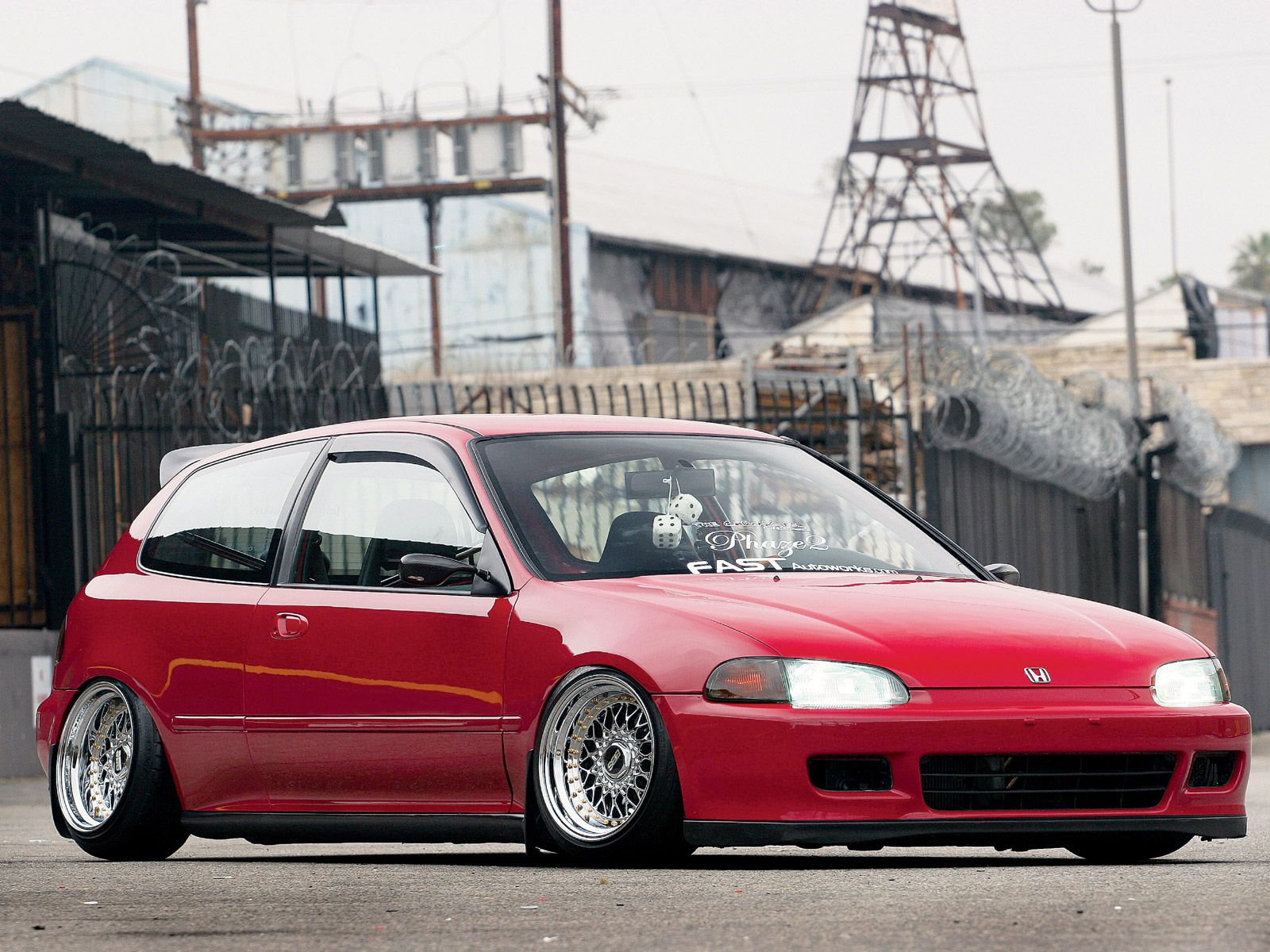 1995 Honda Civic #6