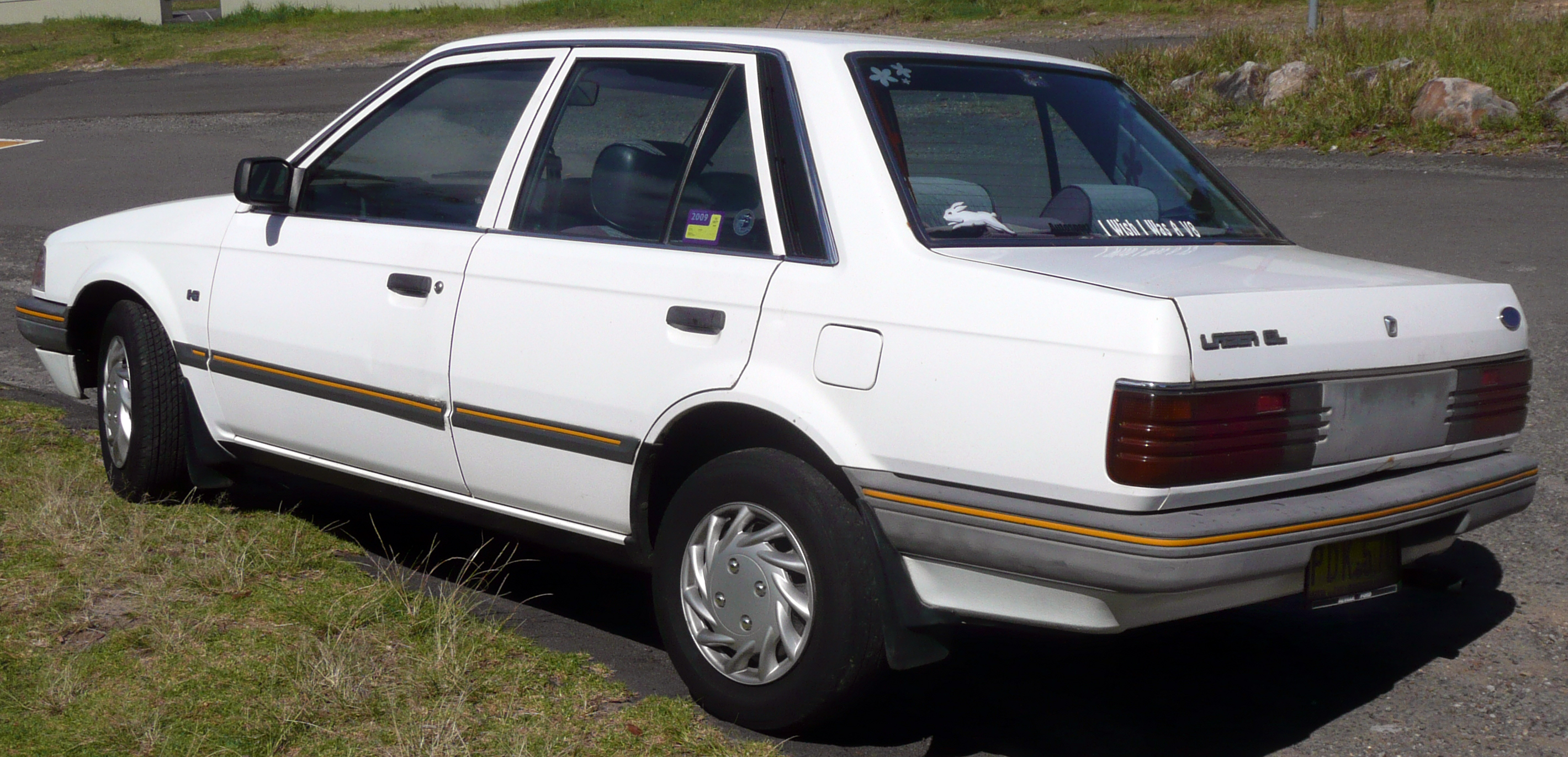 1986 Ford Laser Photos Informations Articles Ltd Wiring Diagram 7