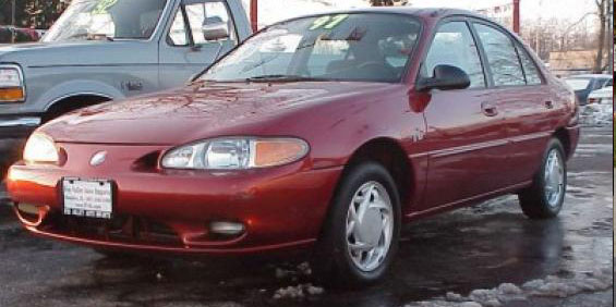 1998 Ford Tracer #6