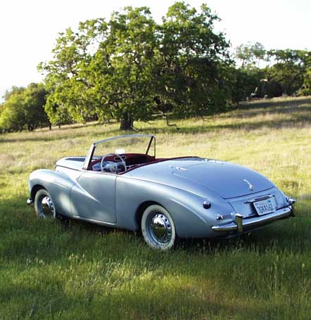 1953 Sunbeam Alpine #12