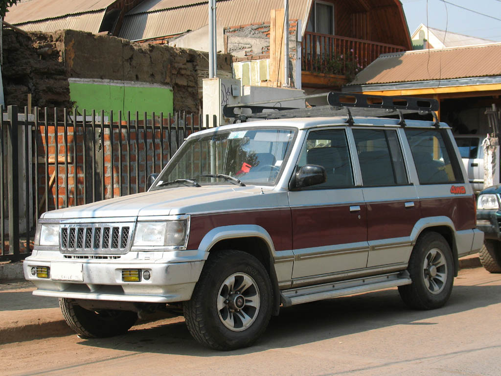 1995 Ssangyong Musso #8