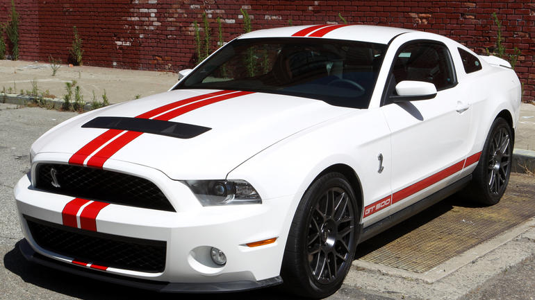 2011 Ford Shelby Gt500 #7