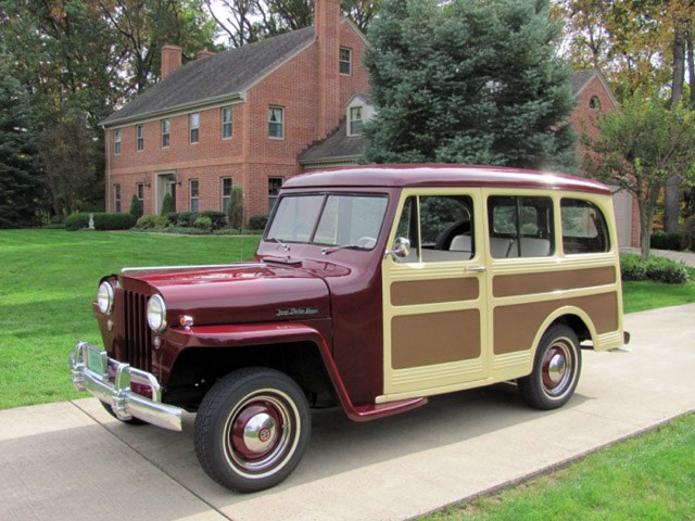 1946 Jeep Station Wagon #12