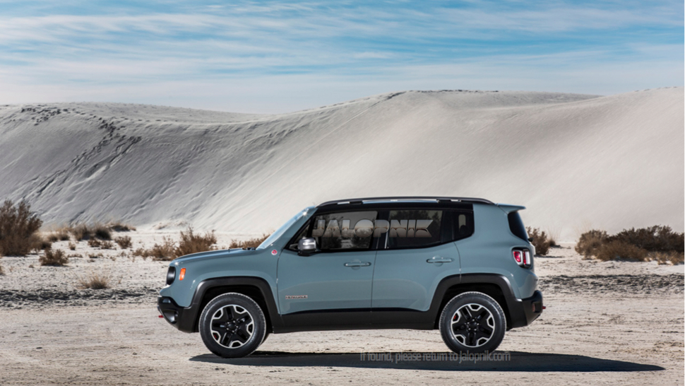 2015 Jeep Renegade #10