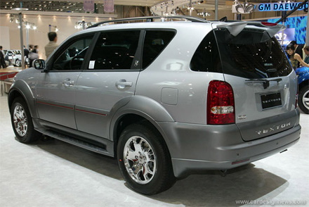 2009 Ssangyong Musso #13