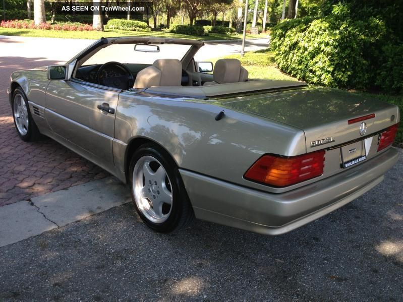1992 Mercedes-Benz SL #17