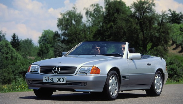 1989 Mercedes-Benz SL #5