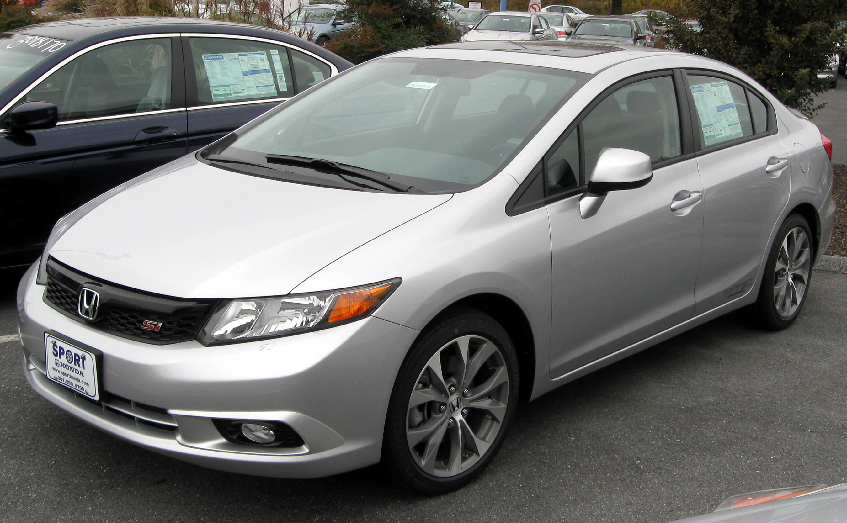 2012 Honda Civic #10