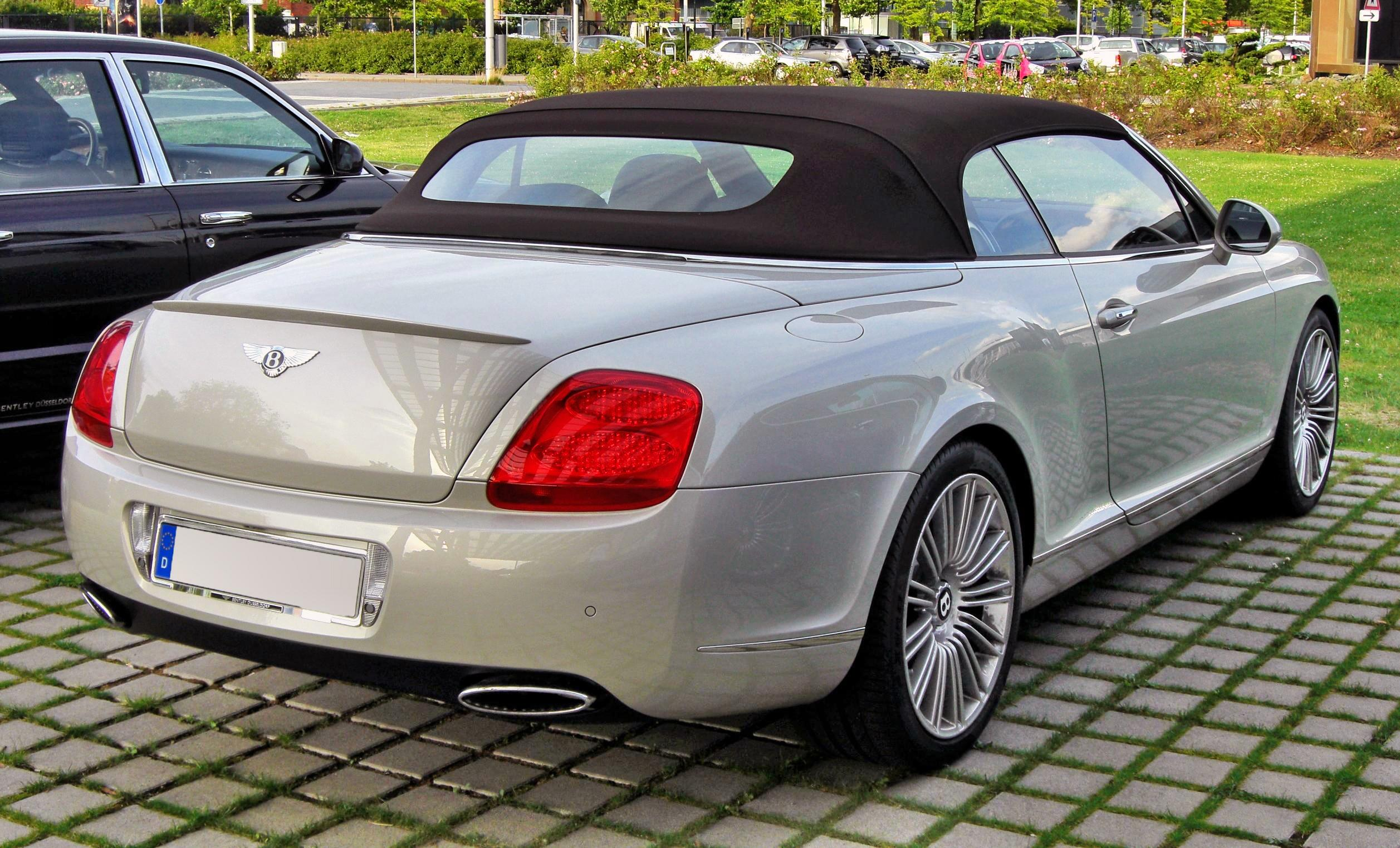 Bentley Continental Gtc Speed #14
