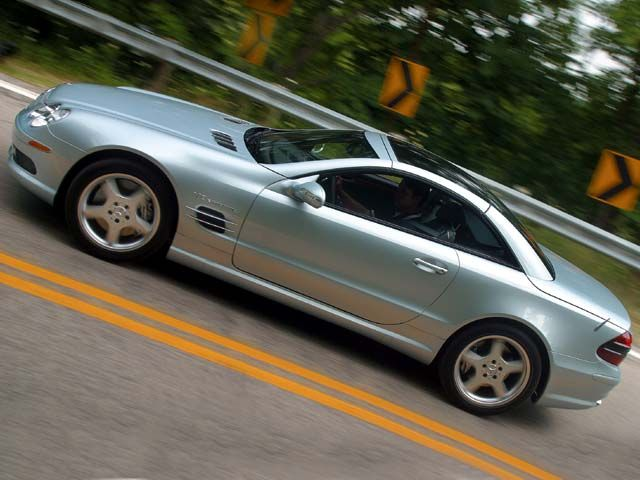 2003 Mercedes Benz SL #17
