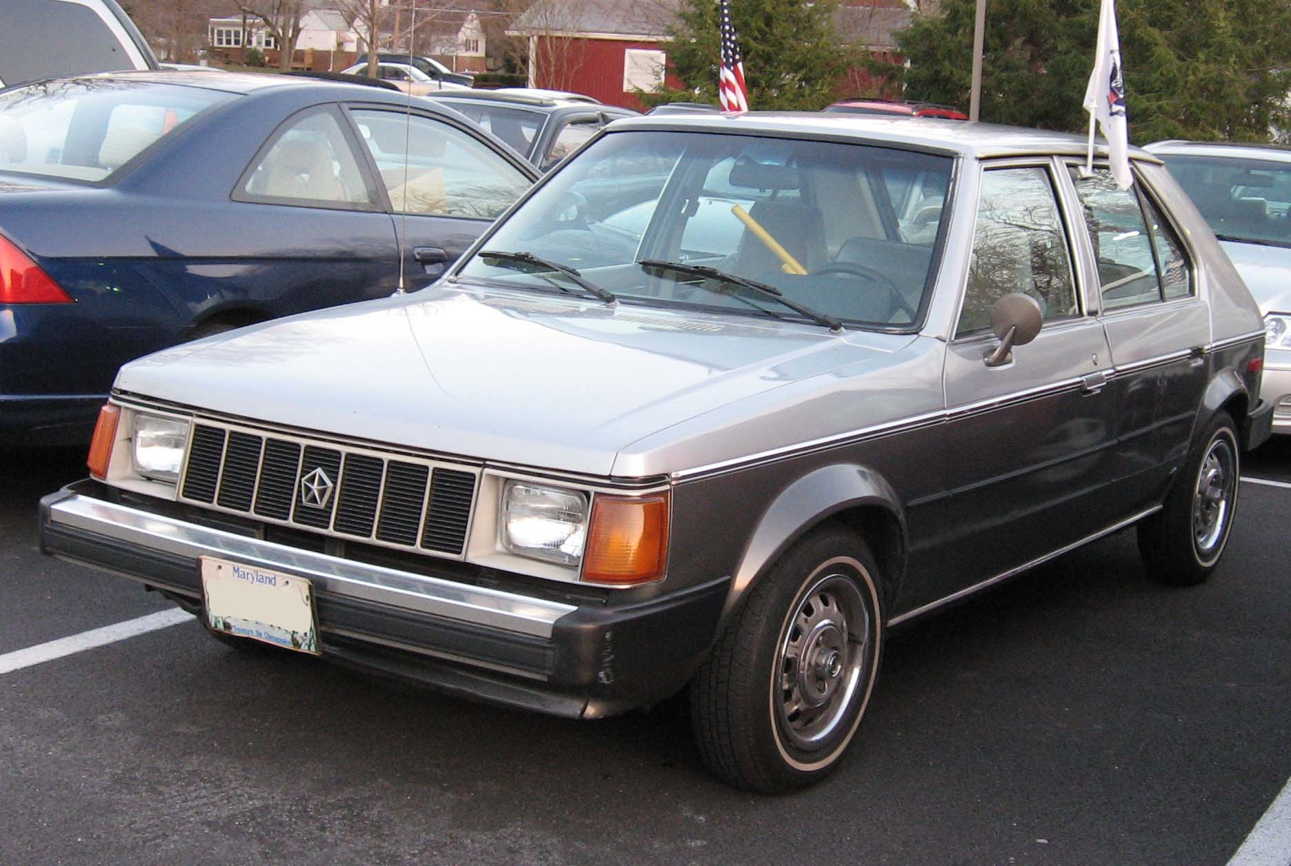 1990 Plymouth Horizon #7
