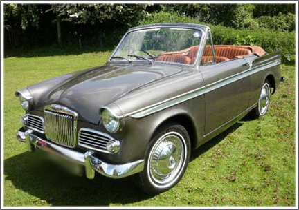 1959 Sunbeam Rapier #10