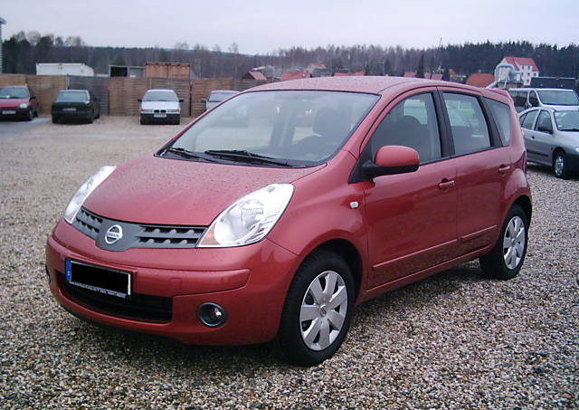 2008 Nissan Note #5