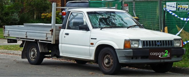 1989 Ford Courier #5