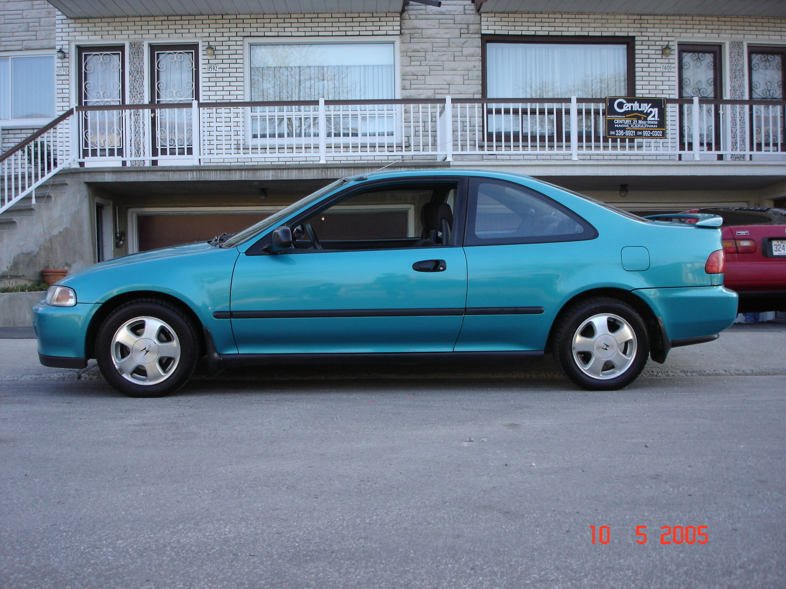 1993 Honda Civic #16