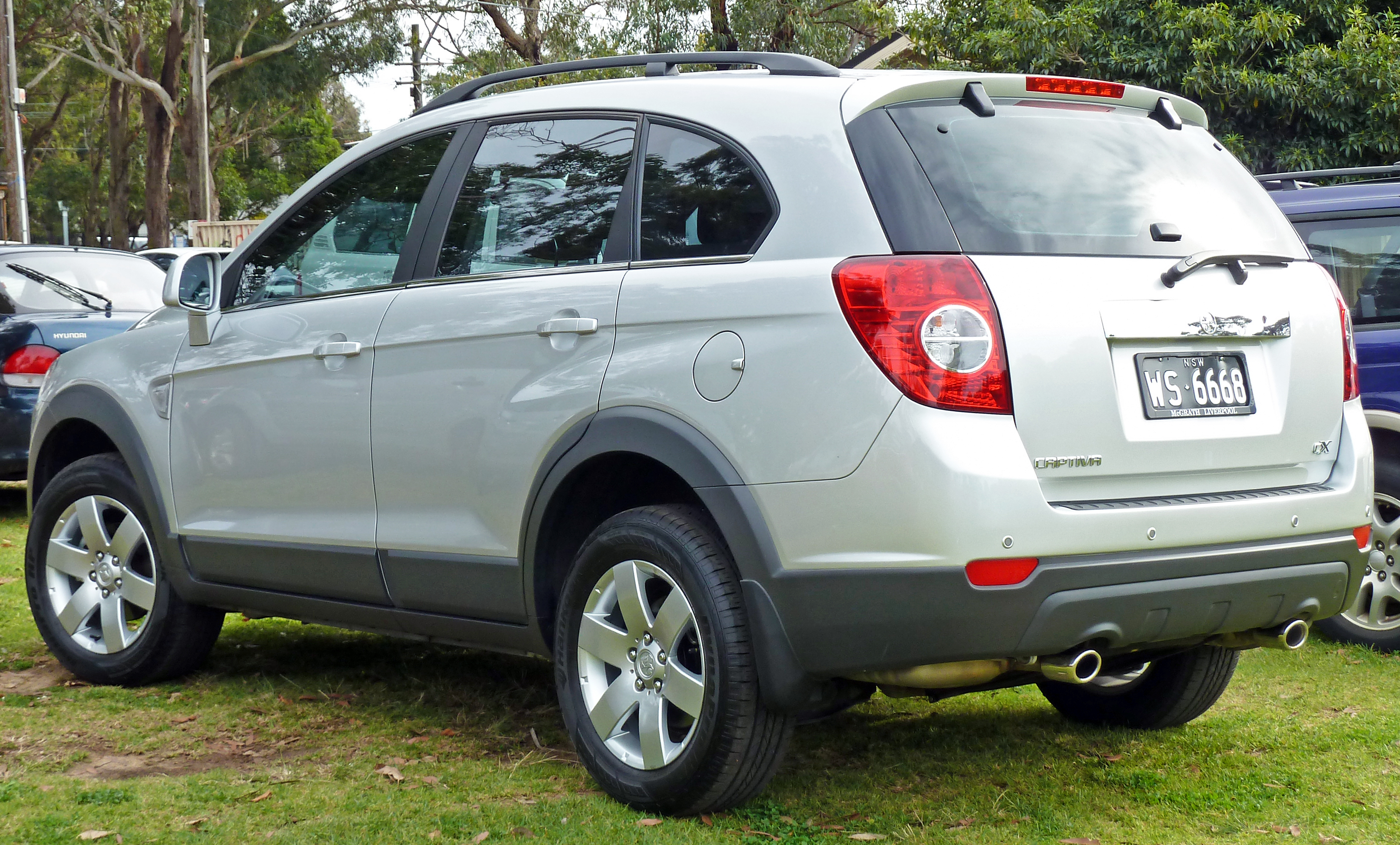 2007 Holden Captiva #11