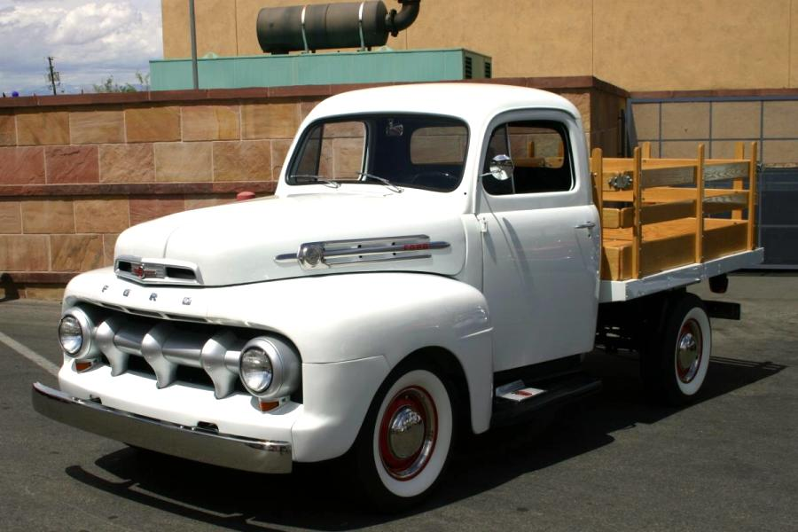 1952 ford f photos informations articles. Black Bedroom Furniture Sets. Home Design Ideas