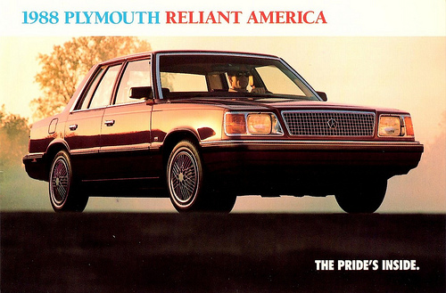 1988 Plymouth Reliant #3