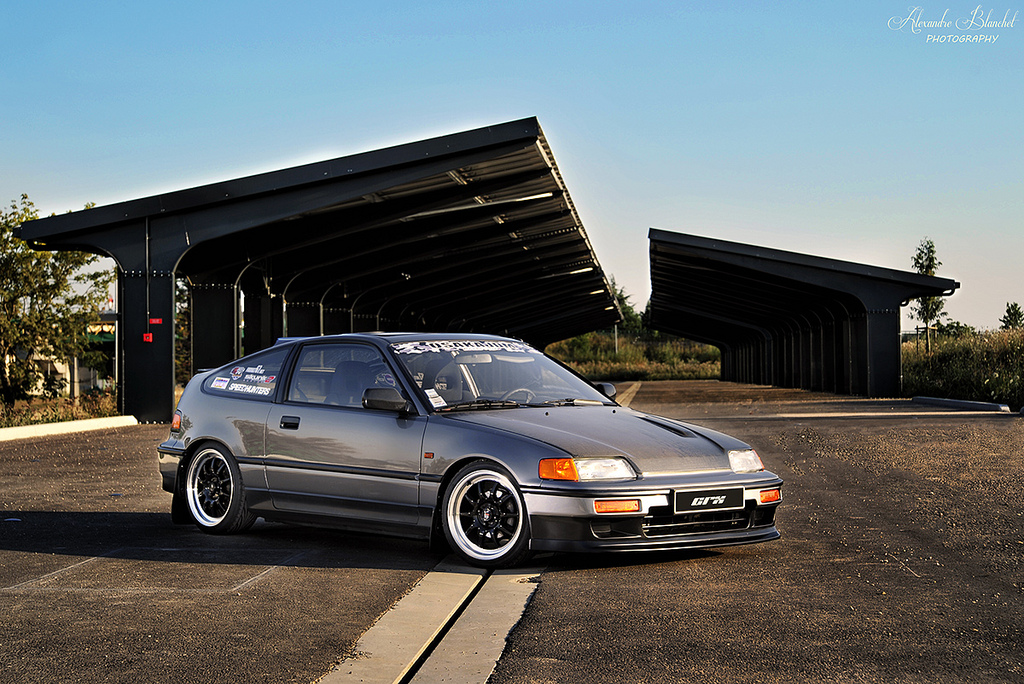 honda crx photos informations articles   bestcarmag