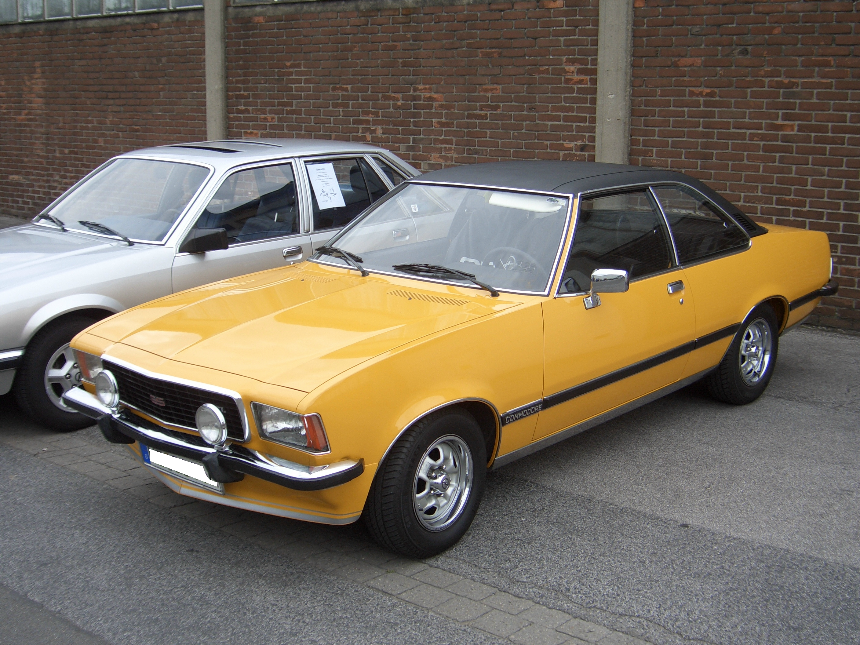 1972 Opel Commodore #1