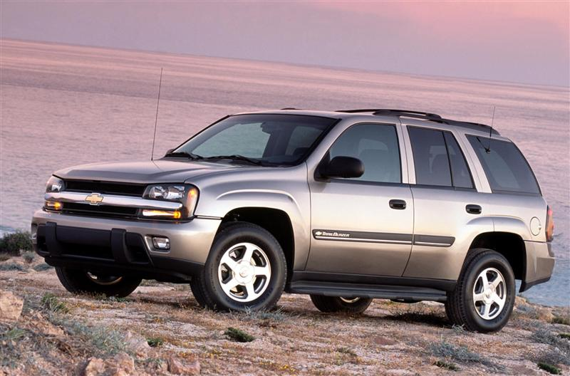 2002 Chevrolet Trailblazer #7