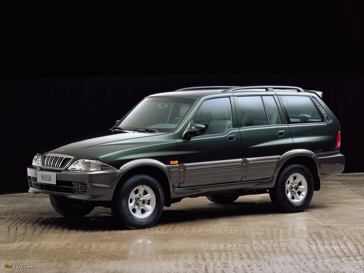1998 Ssangyong Musso #5