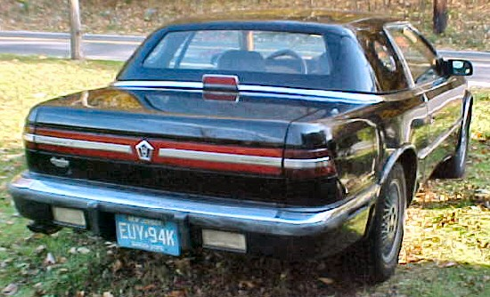 1990 Chrysler Tc #13