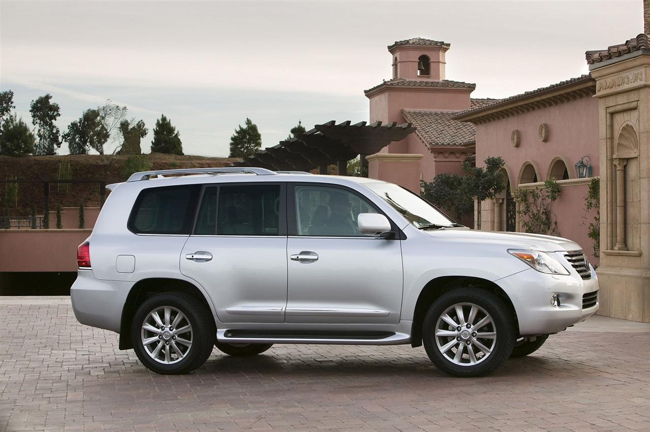 2009 lexus lx 570 photos informations articles. Black Bedroom Furniture Sets. Home Design Ideas