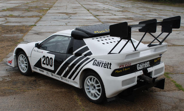 1990 Ford RS 200 #9